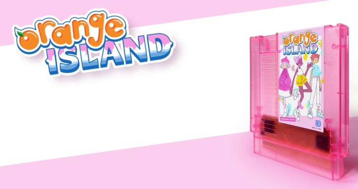 少女心爆炸!玩家自製粉嫩紅白機遊戲Orange Island請來菊田裕樹譜曲