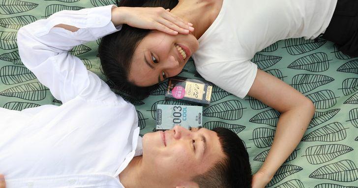 保險套業者調查:台灣大學生15歲以下已經近4成有性經驗,每10位受訪者有4位表示會隨身備「套」