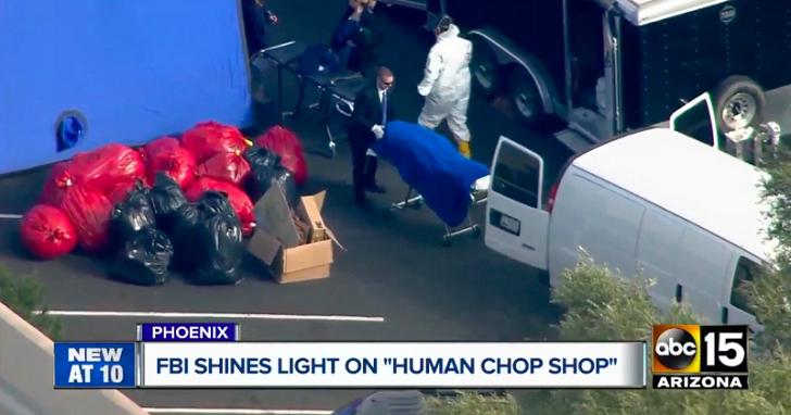 幾年前被FBI查封的「生物資源中心」,遭前探員爆料當時內部狀況:一桶一桶「人體部位」分類擺放