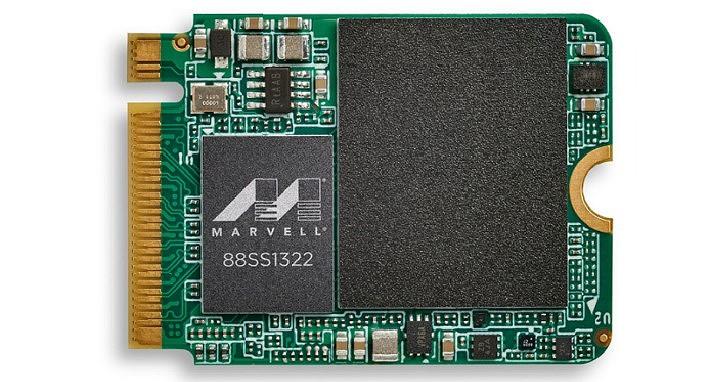 Marvell 發表 88SS1321 等 3 款 PCIe Gen4 SSD 控制器,12nm 與四通道瞄準低功耗而來