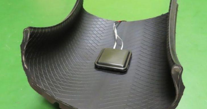 日本研發輪胎靜電收集器,未來開車門再也不怕被電