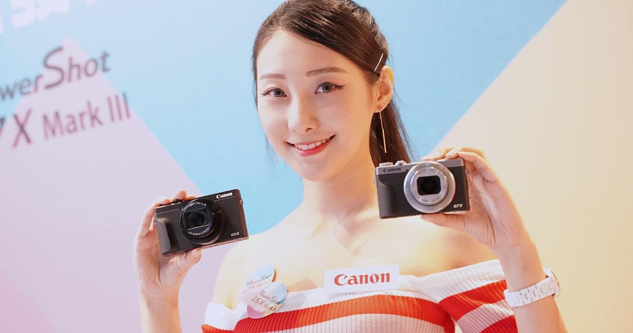 Canon 一吋感光元件隨身機 G7 X Mark III、G5 X Mark II 上市,新增 4K 無裁切錄影與彈出式觀景窗