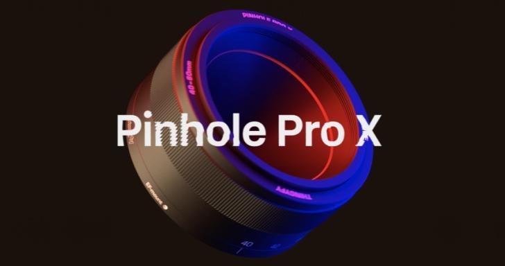 針孔成像鏡頭輕鬆拍出Lomo感,新款Pinhole Pro X還有2倍變焦功能