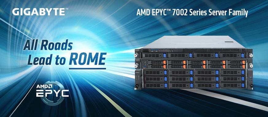 技嘉科技發表第二代AMD EPYC伺服器產品