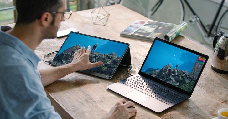 華碩ROG Swift PG35VQ電競曲面螢幕、ASUS ZenScreen Touch MB16AMT可攜式觸控螢幕上市