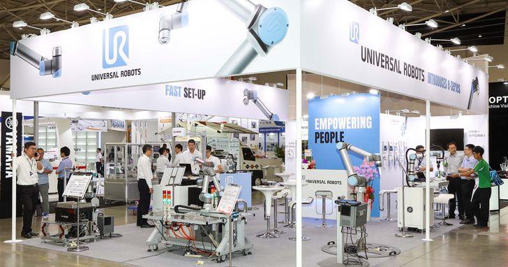 迎戰工業5.0!Universal Robots於台北國際自動化工業大展秀協作型機器人多元應用