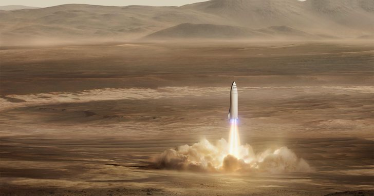 矽谷「鋼鐵人」們的終極目標:飛到火星去建造一座太空城市