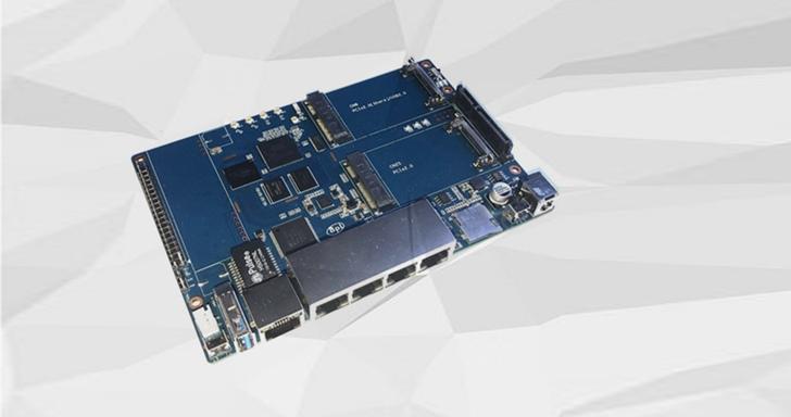 Banana Pi BPI-R64路由器開發板開賣,土砲簡易NAS還有行動上網功能