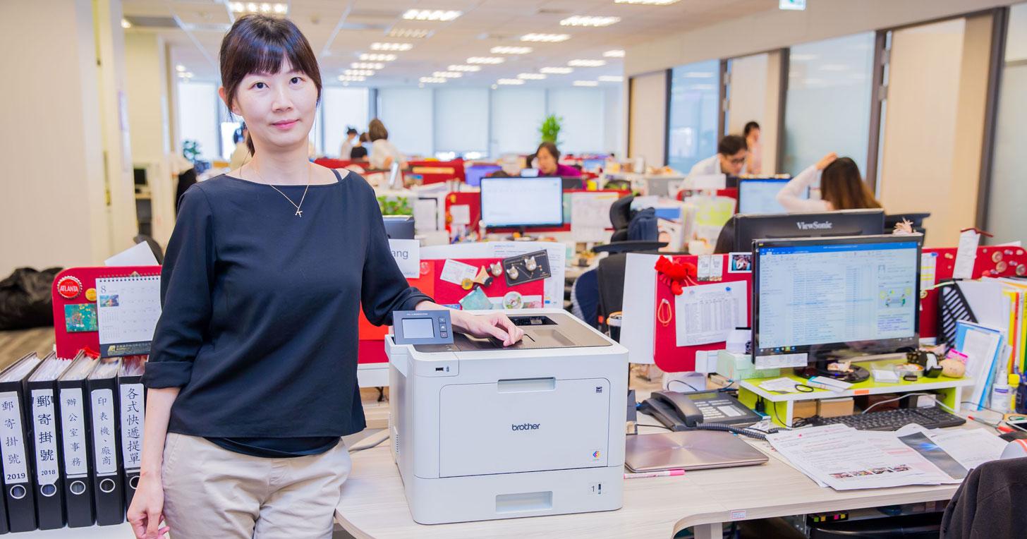 法蘭克福展覽台灣分公司展會經理王麗薇「People Business」專訪: 商用彩色雷射印表機是高品質首要選擇