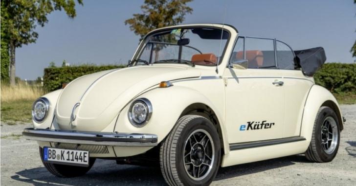 舊款金龜車再戰十年!福斯推出將舊款金龜車改裝成「電動版」金龜車e-Beetle 服務