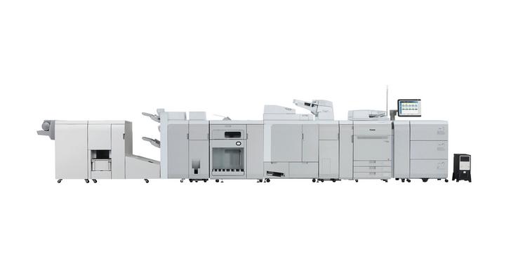 Canon推出量產型彩色數位印刷機imagePRESS C910系列
