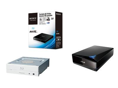 燒錄器新訊:新 BDXL 藍光燒錄器陸續登場
