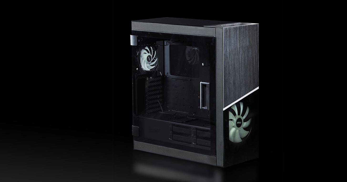 雷霆之神降臨!MSI MPG SEKIRA 500X 電競機殼一次滿足酷炫外觀與便利性雙重需求!