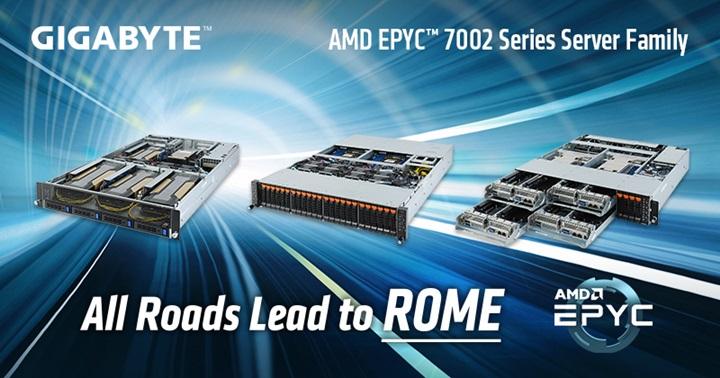 技嘉科技第二波AMD EPYC™伺服器產品問市