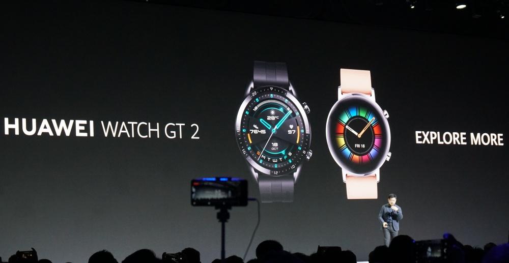 華為第二代智慧錶登場,HUAWEI Watch GT 2 升級運動體驗