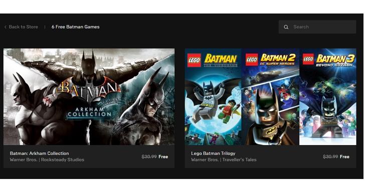 總值約2000元、6款遊戲免費下載!9/26日前領取《蝙蝠俠:阿卡漢》三部曲 x《樂高蝙蝠俠》三部曲