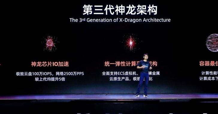 阿里雲發佈第三代神龍架構,激發100%運算潛能