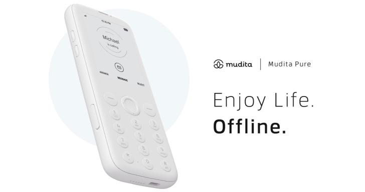 Mudita Pureh功能型手機搭電子紙螢幕,採低電磁波設計保障健康
