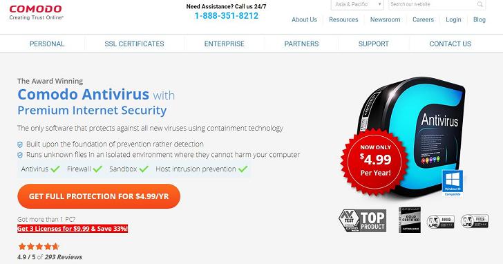 安全軟體公司也被駭客入侵,Comodo 官方論壇遭人竊取使用者個資