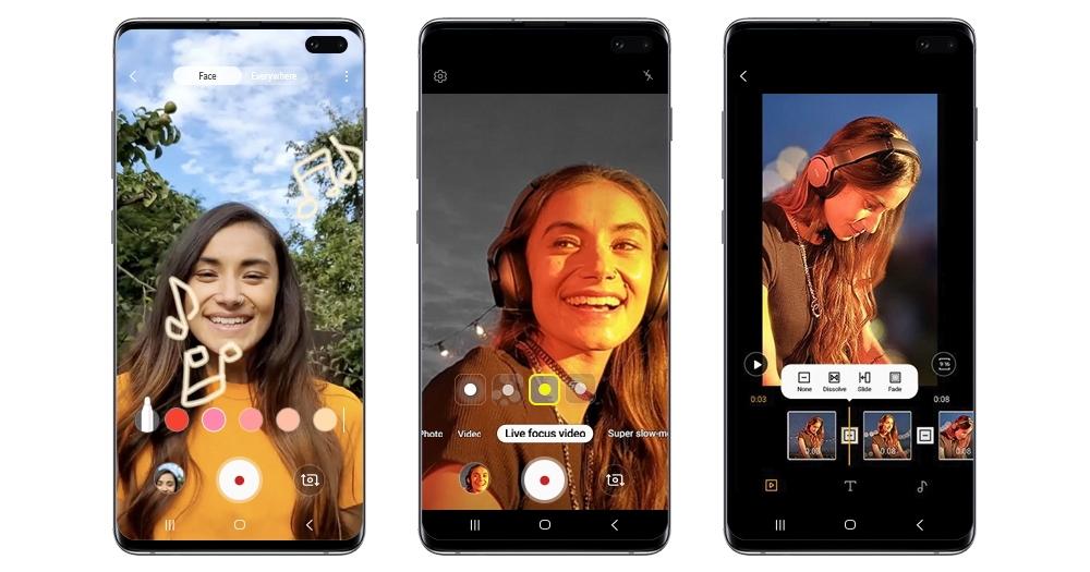 快幫手上的 Galaxy S10 更新,Note 10 的景深特效錄影、手繪動態攝影 S10 也可用
