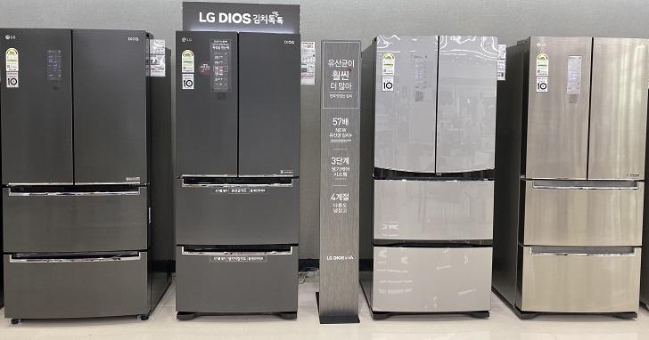 LG 冰箱加入 NatureFRESH 技術、開冰箱也能保持低溫,LG V+ 窄版美型冰箱年底上市、紅酒櫃也將登場