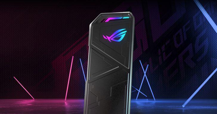 潮款首選!ROG玩家共和國推出首款ROG Strix Arion SSD固態硬碟外接盒