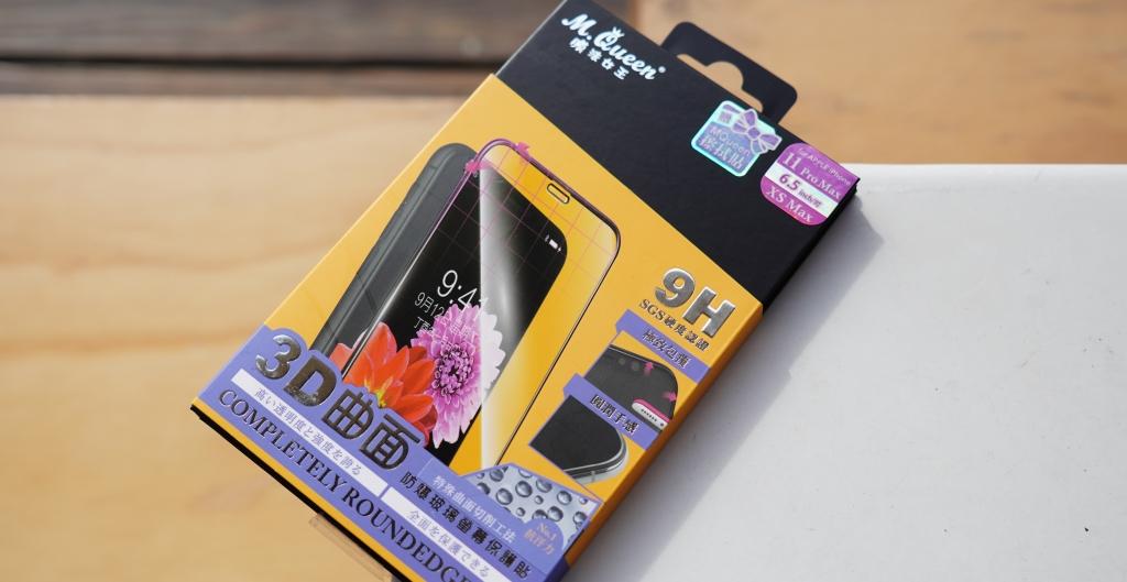 iPhone 11 / 11 Pro 的靈魂伴侶,M. Queen 膜法女王 3D 曲面防爆玻璃保護貼
