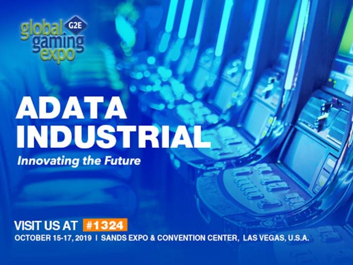 威剛前進2019年美國全球國際博彩展覽會Global Gaming Expo (G2E)