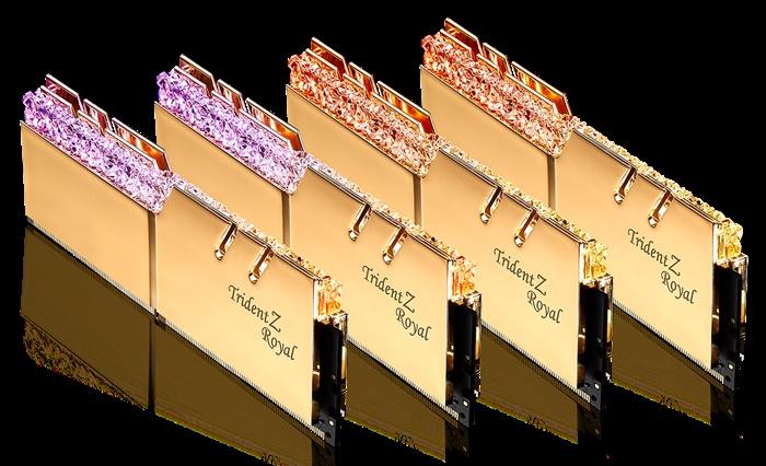 芝奇推出DDR4-4000MHz CL15 8GBx4極速記憶體套裝