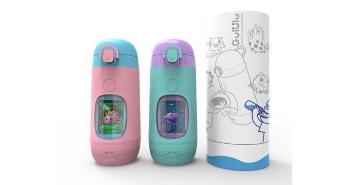 喝水就可以收集獎勵、解鎖地圖,Gululu 推出新品「Gululu Go」智能互動水壺