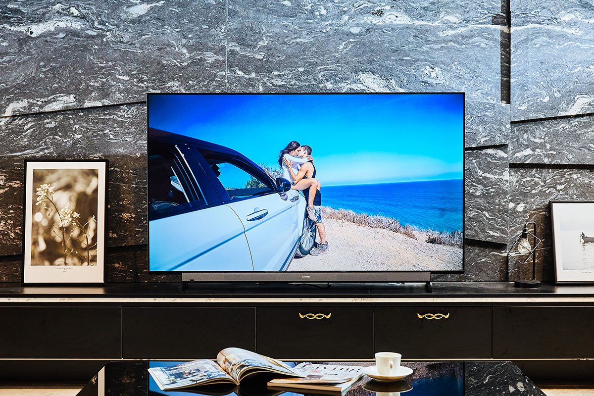 用說的,它就懂,CHIMEI TL-65R500搭載Android TV 9.0系統4K HDR大型液晶顯示器