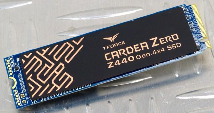 雙層石墨烯加強導熱效果!Team Group T-Force Cardea Zero Z440 M.2 PCIe 4.0 SSD 1TB 實測