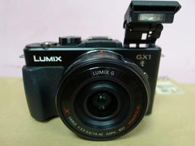 走高階的 Panasonic Lumix GX1實機曝光?與 GF1 比比看