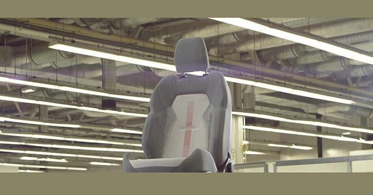 透過 3D 編織列印技術,Ford 製作可隨心更換的汽車椅套
