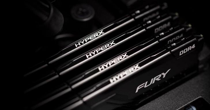 HyperX FURY DDR4記憶體搭載全新Alienware Aurora Ryzen桌上型電腦