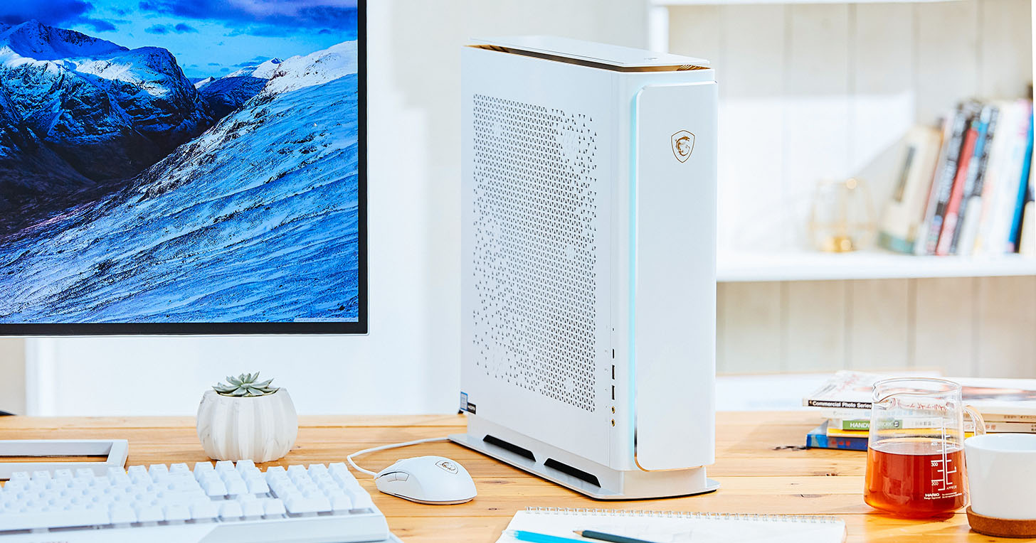 MSI Prestige P100 桌上型電腦實測:效能堪比旗艦電競機的創作者神器!