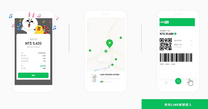LINE Pay 獨立 App 快速測試!發票載具條碼有 Bug,左右滑動界面不直覺
