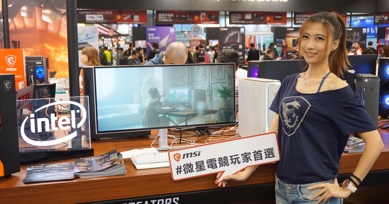 MSI 台北資訊月首賣!PS341WU 創作者螢幕 5K2K 完美色彩呈現