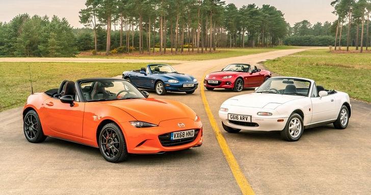 為符合環保要求,下一代 Mazda MX-5 據傳將採油電動力