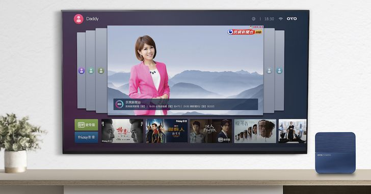 OVO AI電視盒上市,平台授權賣往南美、東南亞