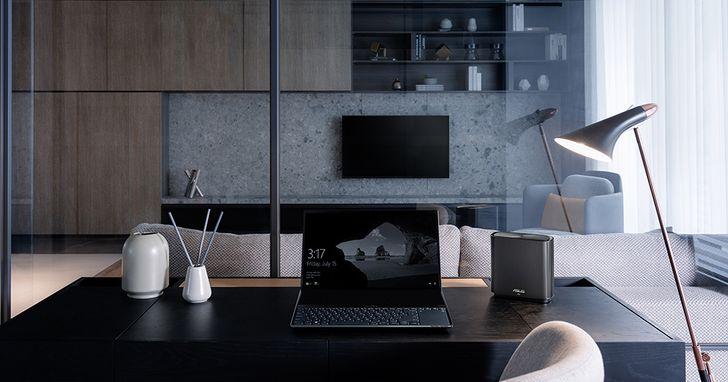 ASUS ZenWiFi AC (CT8)三頻網狀無線路由器登場,蘊含Mesh Wi-Fi系統