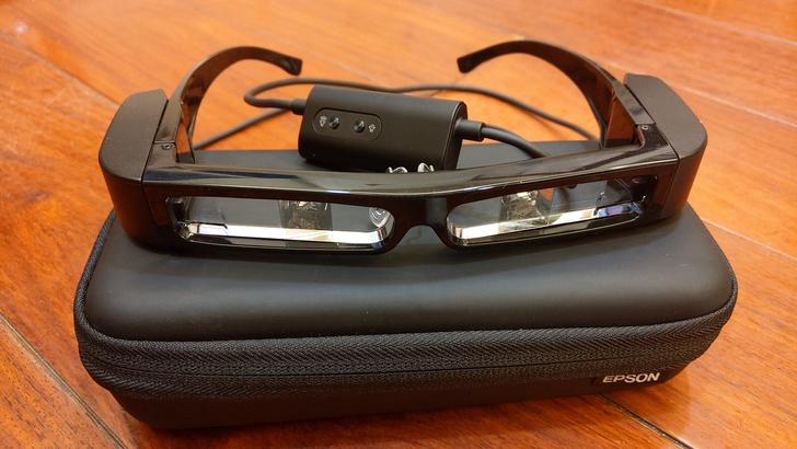 [心得]智慧眼鏡的時代來臨了 Epson MOVERIO BT-30C 次視代 80吋大螢幕的樂趣