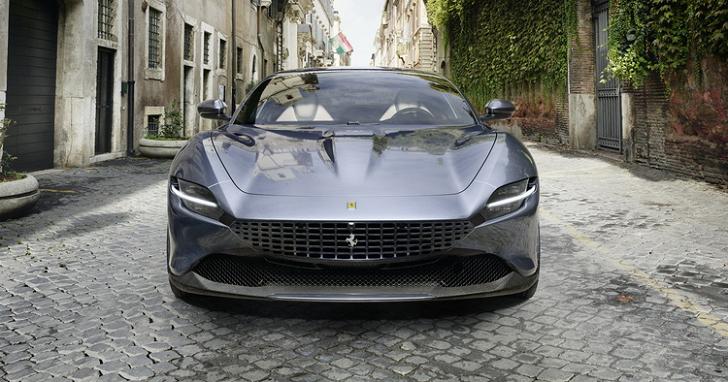超越時代的優雅!全新設計的 FERRARI Roma 將有 620 匹馬力