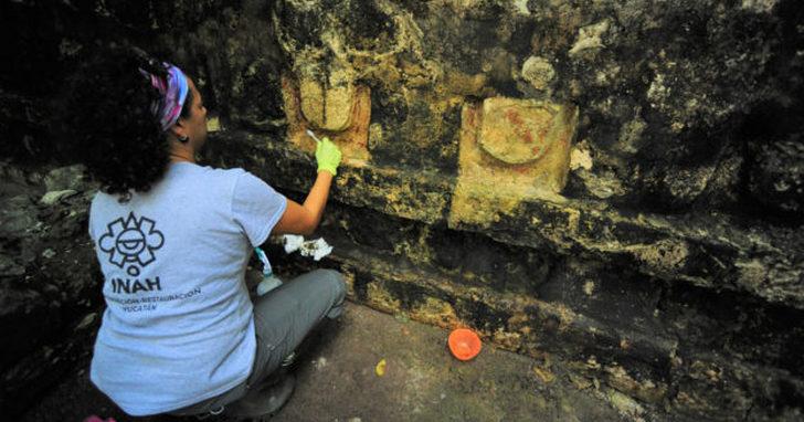 考古學家在墨西哥發現馬雅文明大型宮殿遺跡