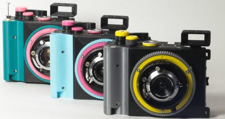 3D列印自己做,Cameradactyl Brancopan土砲底片相機還能更換鏡頭