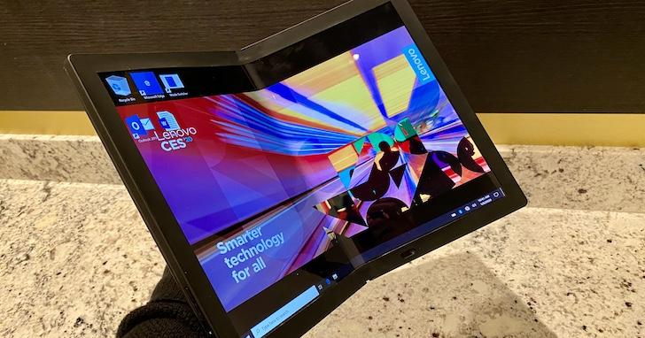 Lenovo 於 CES 2020 發表首款可摺疊筆電 ThinkPad X1 Fold,可選配 5G 版本、售價 2,499 美元起