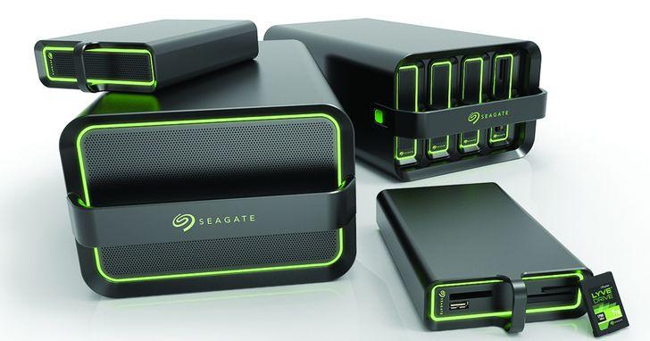 Seagate 推出 Lyve Drive 模組化儲存解決方案,能高效搬運公司、雲端、邊緣等地的資料
