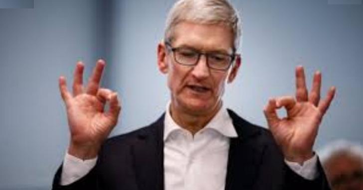 年終縮水的不只你!蘋果CEO庫克去年薪酬收入被發現整整少了400萬美元,但去年蘋果明明大賺啊?