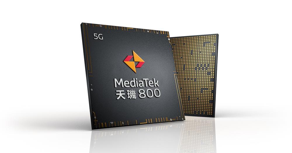 聯發科發表天璣 800 系列 5G 晶片,鎖定中階市場、最快今年上半年問世