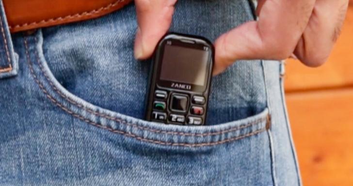 小、還要再小,Zanco推出全長僅2.4吋的tiny t2手機